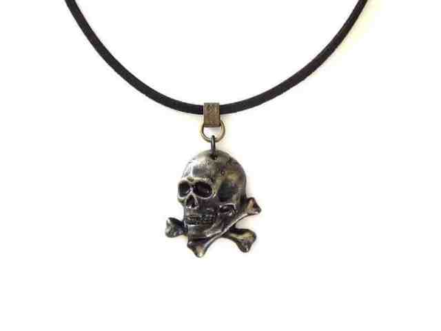 pirate gifts necklace
