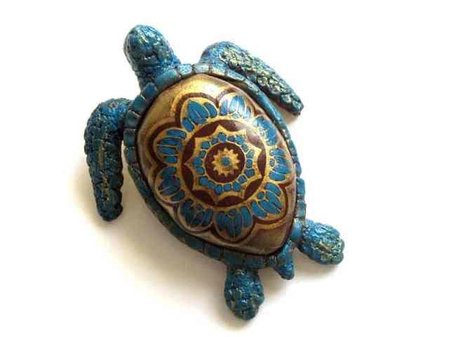 sea turtle figurine