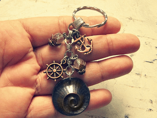 nautical themed keychain
