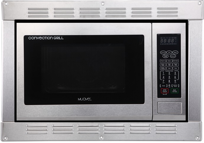 muave rv microwave convection 120v cul stainless steel wi