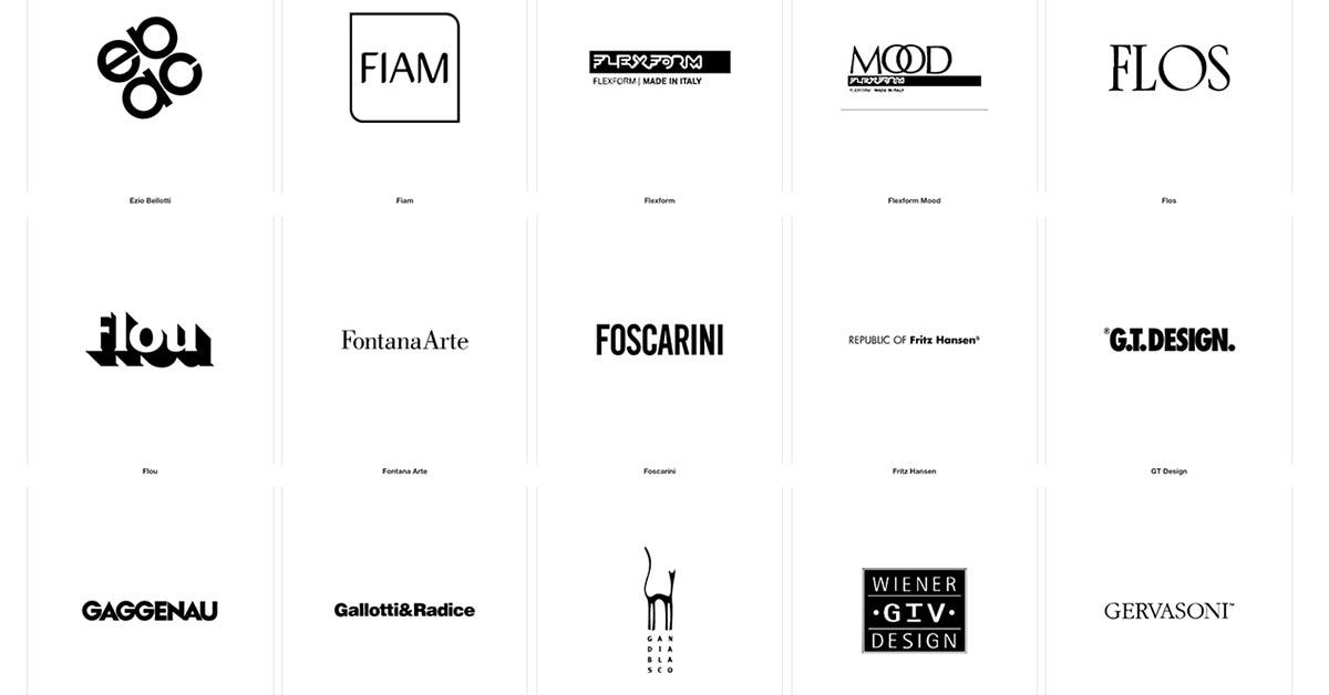 Quali sono i principali brand ? Marchi Tutti I Migliori Marchi Di Design Salvioni Design Solutions