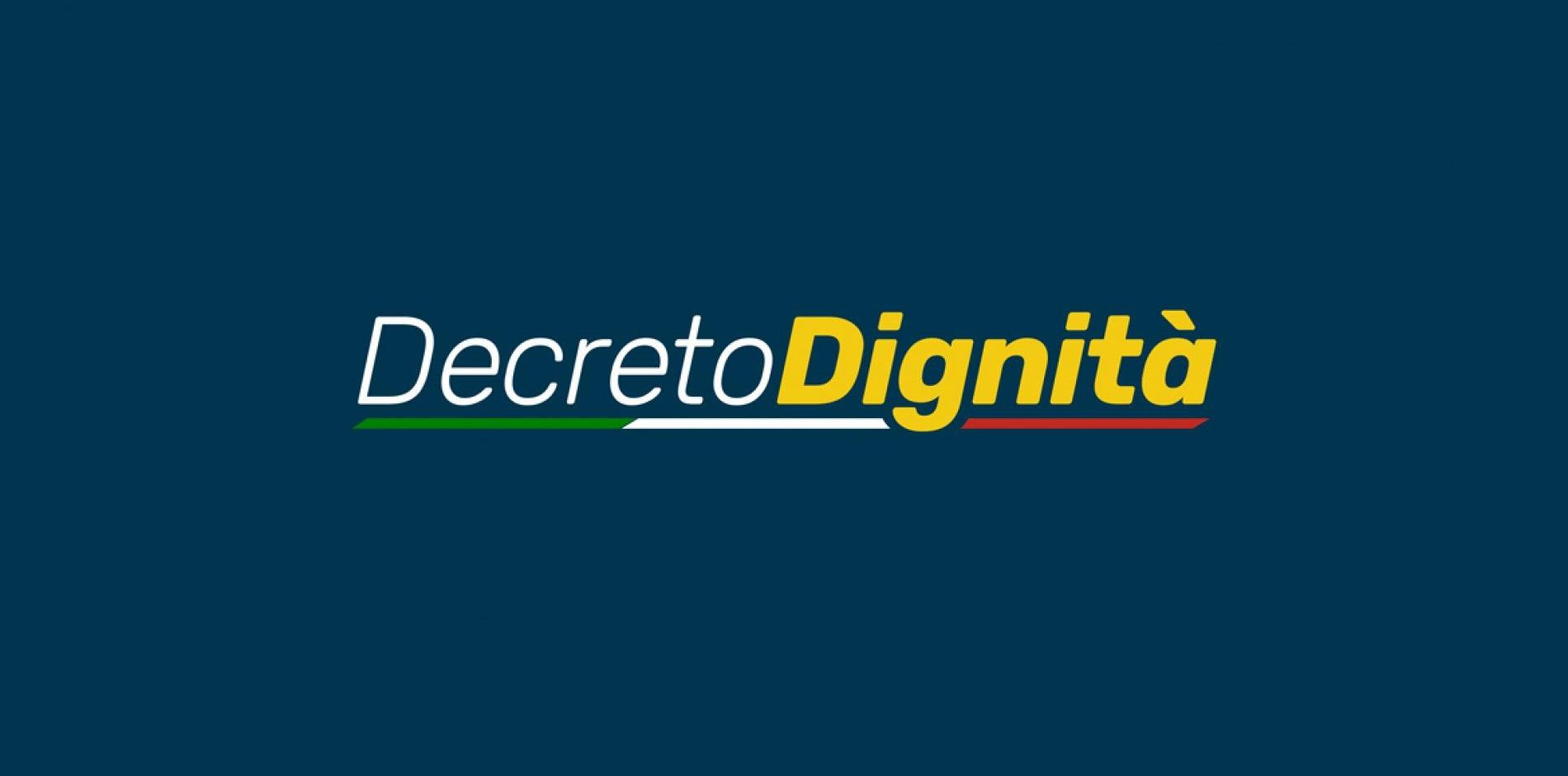 Decreto Dignità: una visione d'insieme delle principali novità fiscali
