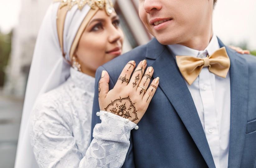 Il matrimonio di una donna islamica con un italiano