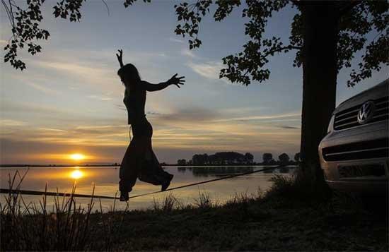 Foto de Isakis, ganadora del concurso de fotografía del portal furgovw.org