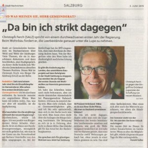 03.06.2015, StadtNachrichten Interview