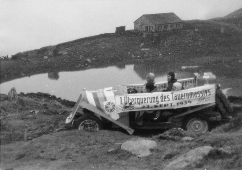 Großglockner Hochalpenstraße 1934 Erstbfahrung