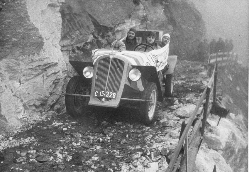 Großglockner Hochalpenstraße Erstbefahrung 1934