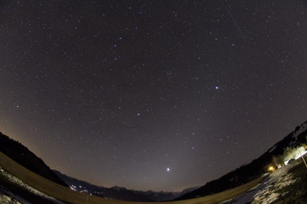 Planets, Meteor and Zodiacal LIght
