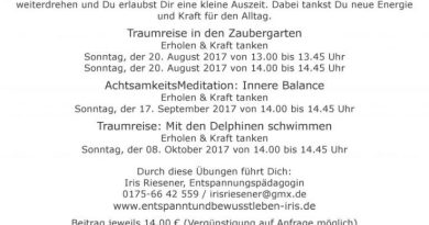 Archiv - Beitrag - Iris Riesener - August
