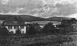 Alte Ansicht der beiden Gebäude