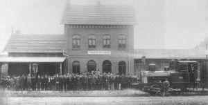 Streckeneröffnung am 16.6.1896