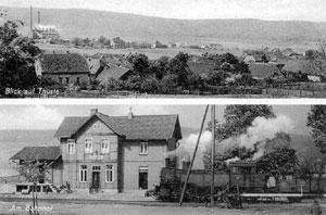 Thüste um 1950
