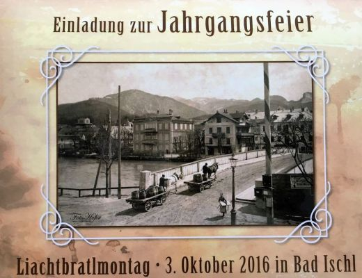 Liachtbraltmontag in Bad Ischl
