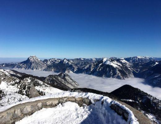 Helmeskogel Schneeschuhwandern