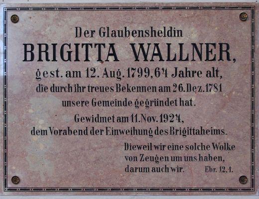 Brigitta Wallner Schild aus Gosau