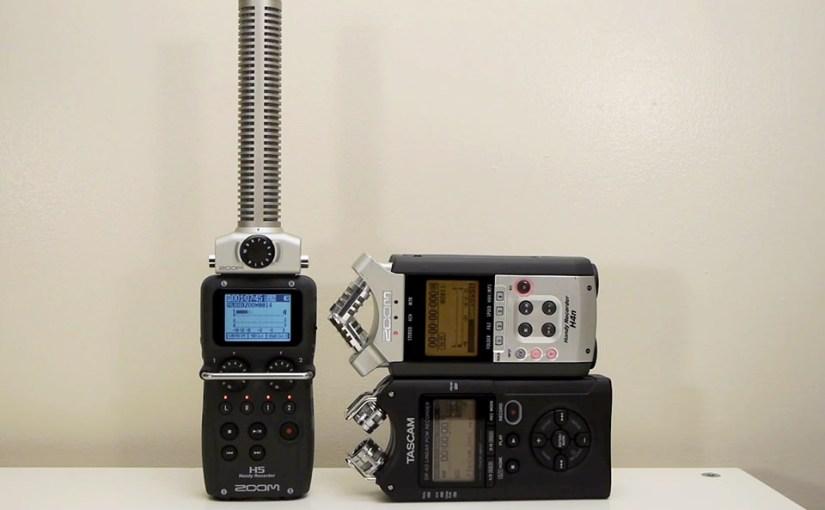 Audio Test: Zoom H5 vs  Zoom H4n vs  Tascam DR-40 – Sam Mallery
