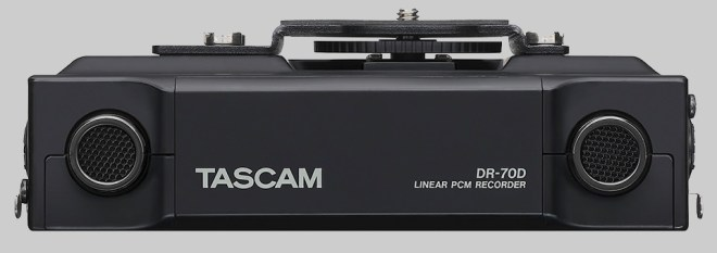 DR-70D rear microphones