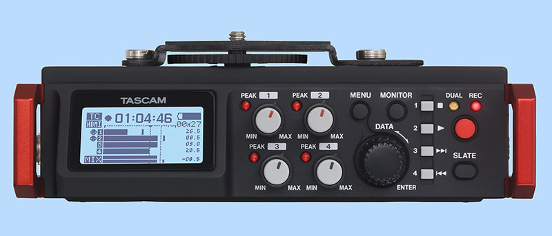 First Thoughts on the Tascam DR-701D Field Recorder
