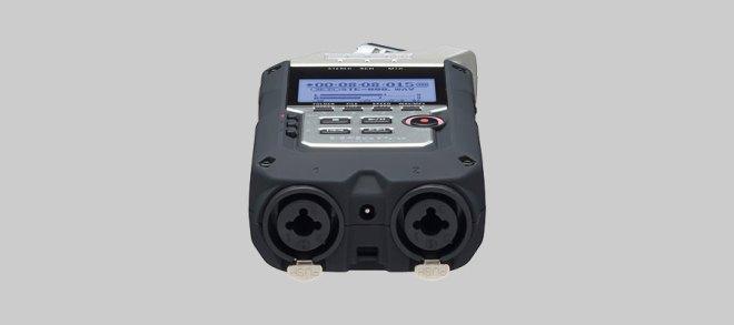 Zoom H4n Pro XLR inputs