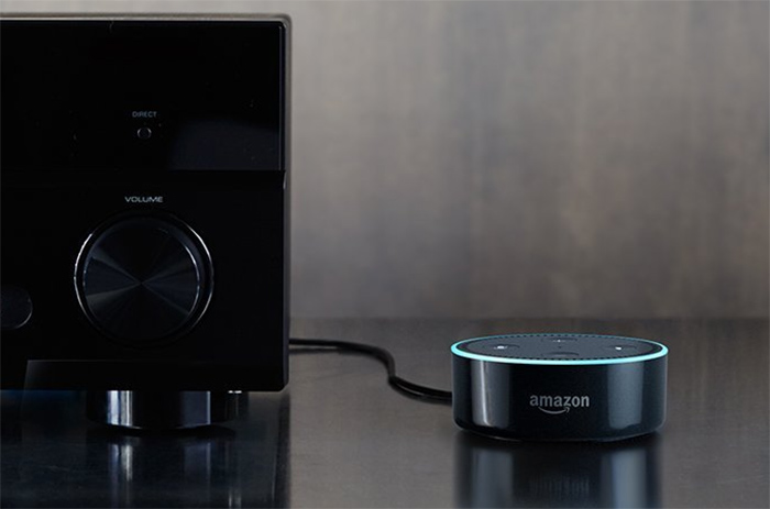 Hook up echo dot to sonos