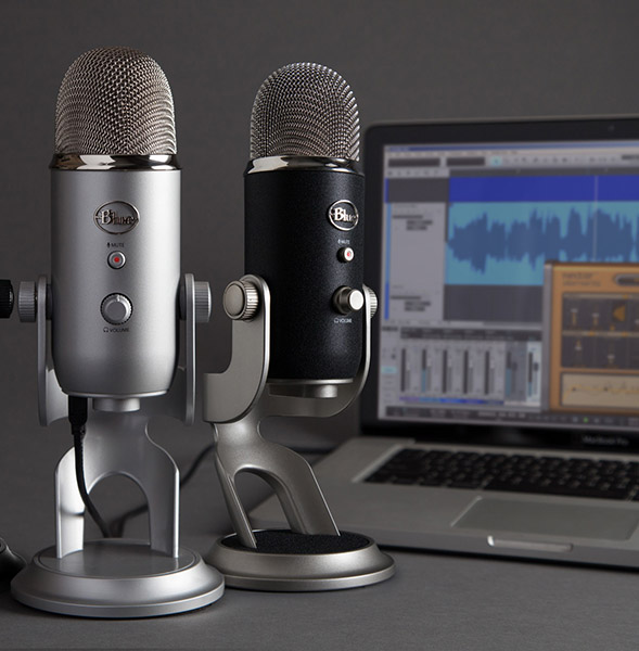 Blue Yeti Podcasting Microphone