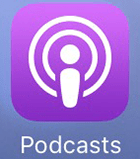 Apple Podcasts app icon