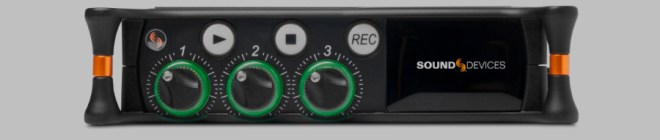 The face of the Sound Devices MixPre-3