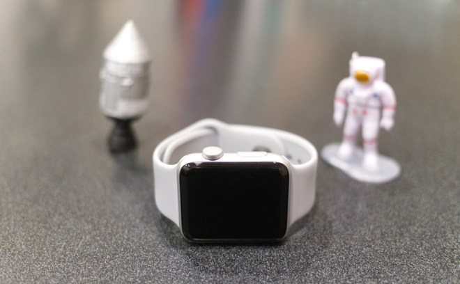 Apple Watch Series 3 GPS with the Fog Sport Band