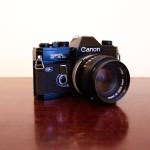 The Canon FTb SLR: My new camera (from 1971)