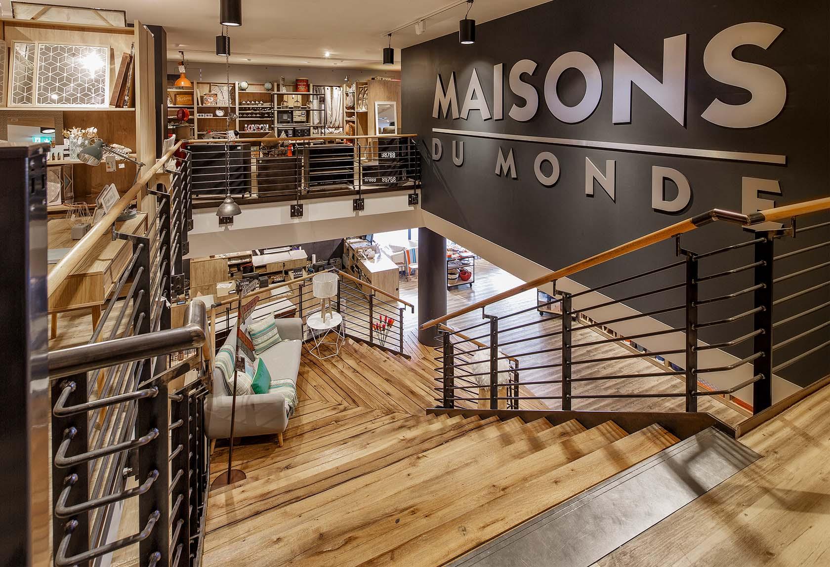 MAISONS DU MONDE store in Dortmund Germany  SAM l MAU architecture