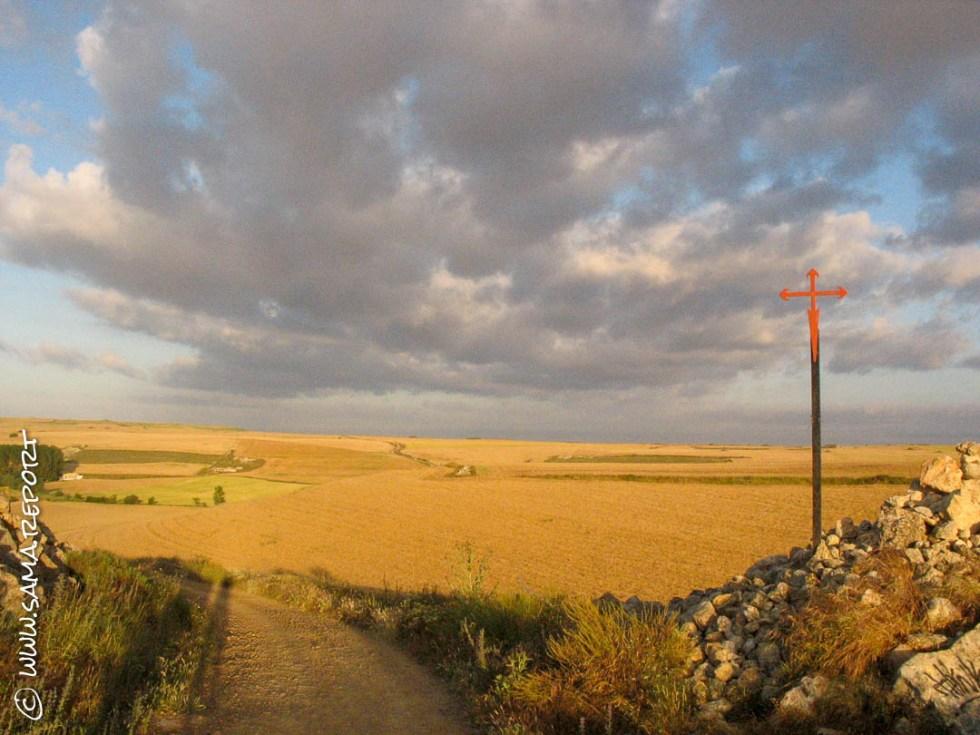Die Kornkammer auf dem Jakobsweg