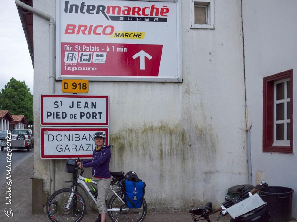 23. Tag: Bayonne - Saint-Jean-Pied-De-Port (Frankreich)