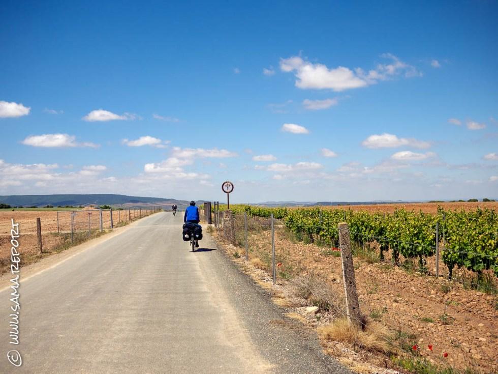 27. Tag: Los Arcos - Azofra (Spanien)