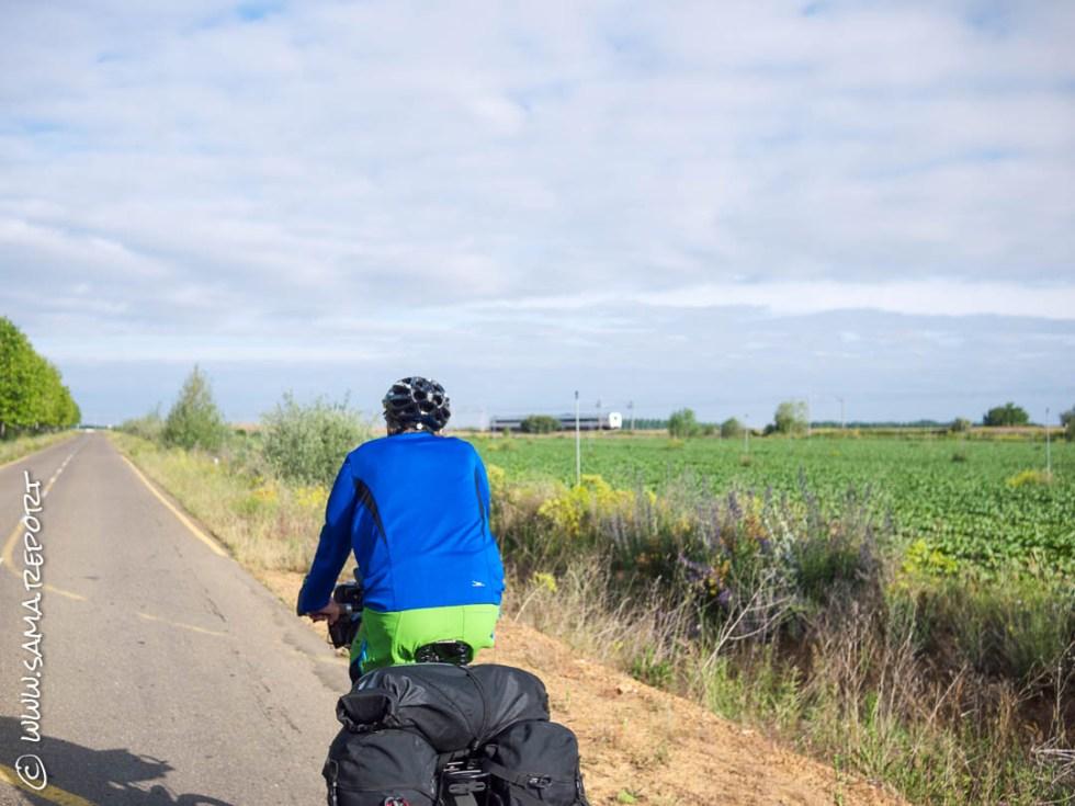 32. Tag: El Burgo Ranero - Hospital De Orbigo (Spanien) / 69 km
