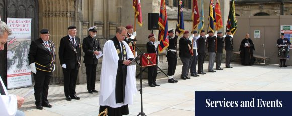Remembrance Service at Hull 2017
