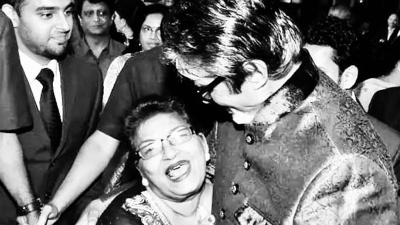 Photo of Saroj gave the trade rhythm: Amitabh Bachchan | SAMAA