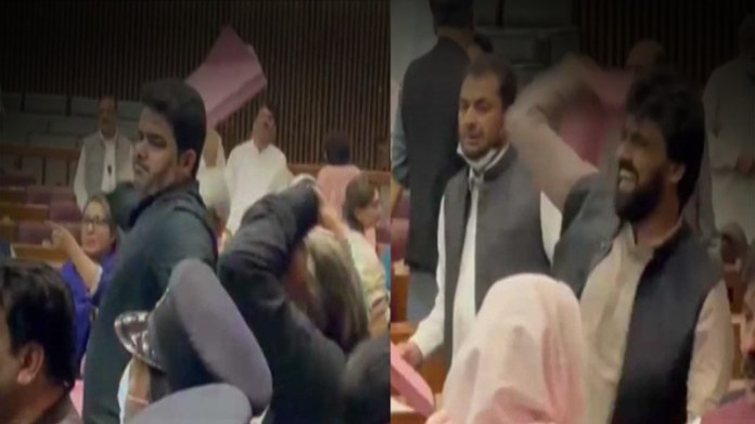 National Assembly ruckus: lawmakers from both sides lose control