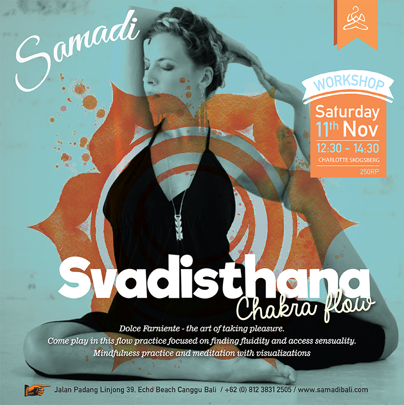 svadisthana workshop at samadi bali