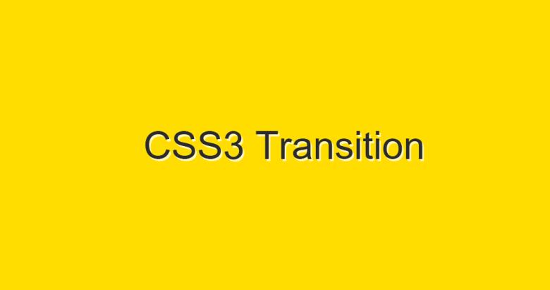 css transition