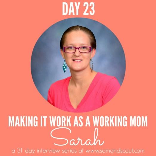 Day 23 - Sarah