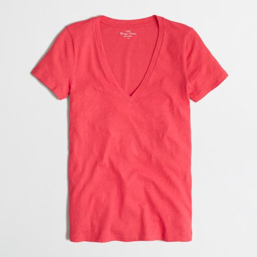 JCrew Factory Layering V-Neck