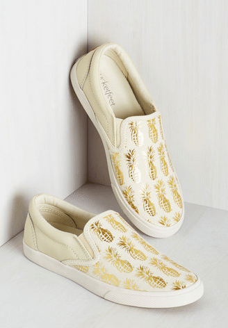 Tropical Illusion Slip-On Sneakers