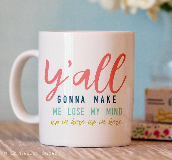 Image & mug from Oh Hello Sugar on Etsy
