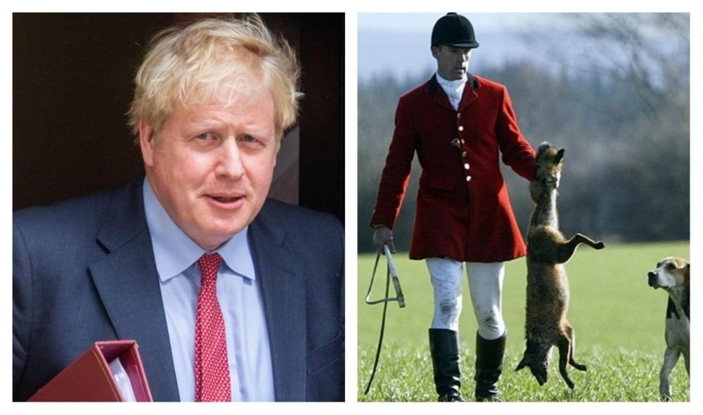 UK Prime Minister Admits He Gets Off On Fox Hunting. Encourages Fox Hunters To Break The Law
