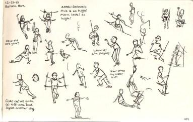 Playground Gestures