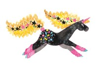 80s Pony - she is wearing leg warmers and has crimed hair