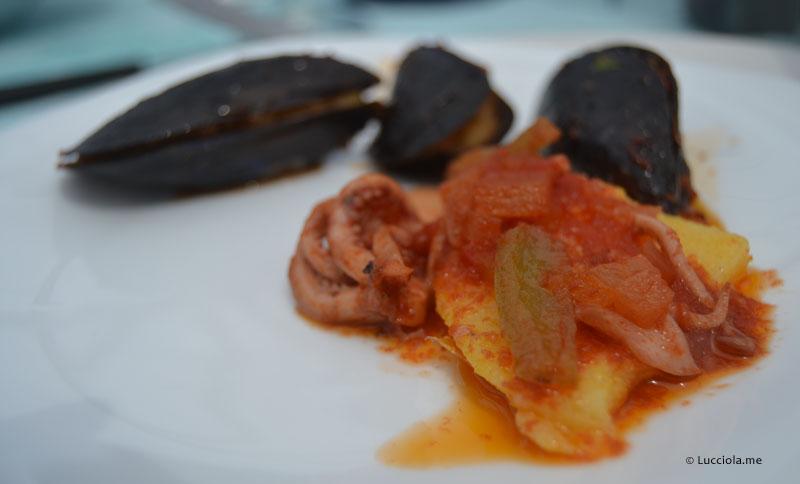 Squid & Polenta