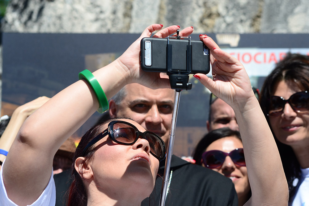 selfie-abbot-monte-cassino