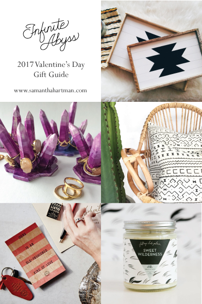 2017 Valentine's Day Gift Guide by Samantha Hartman of Infinite Abyss