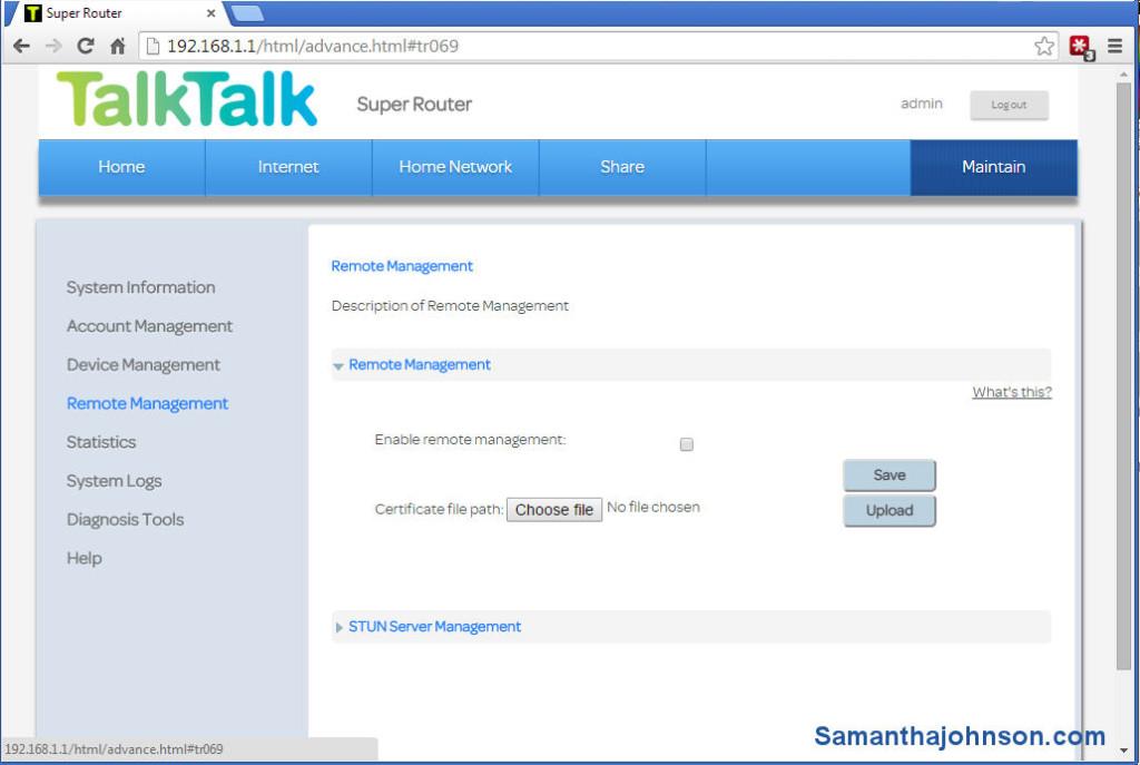 TalkTalk Super Router Security  TalkTalk Huawei HG635